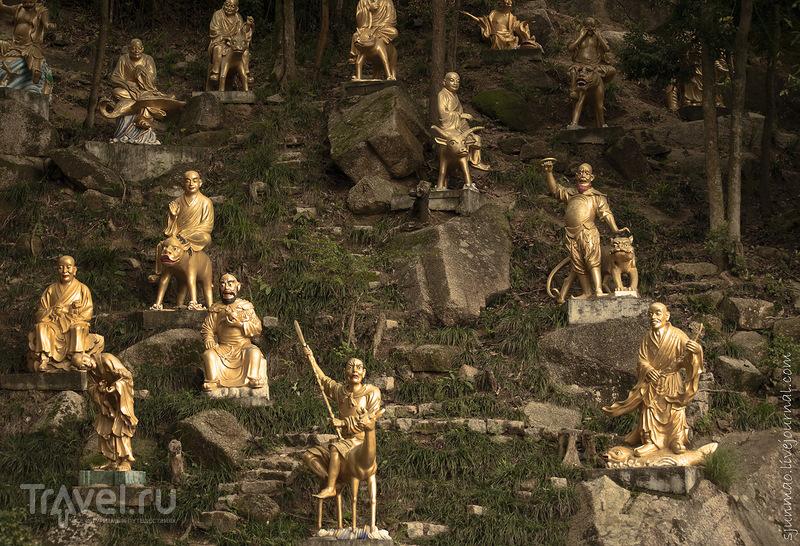 В монастыре 10000 Будд в Гонконге / Фото из Гонконга