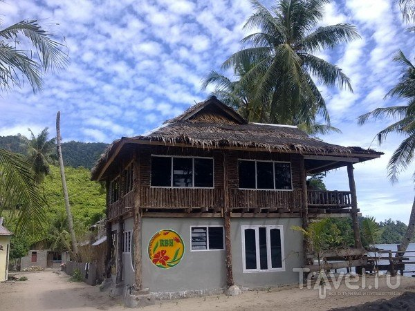 Деревня Nagari Sungai Pinang, Паданг, Суматра / Индонезия