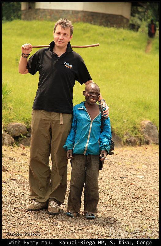 Большая африканская авантюра. Гориллы Кахузи-Бьега / Фото из Руанды