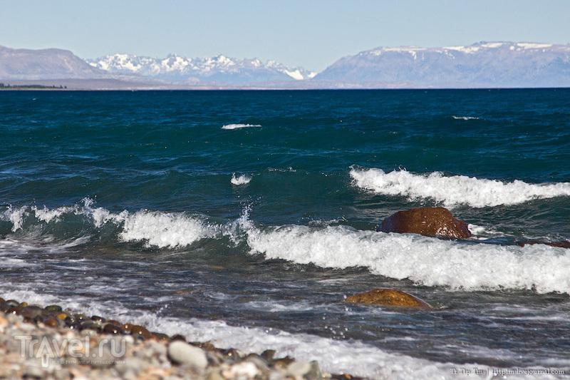 Лазурь и мрамор озера Буэнос-Айрес - Хенераль-Каррера / Фото из Аргентины