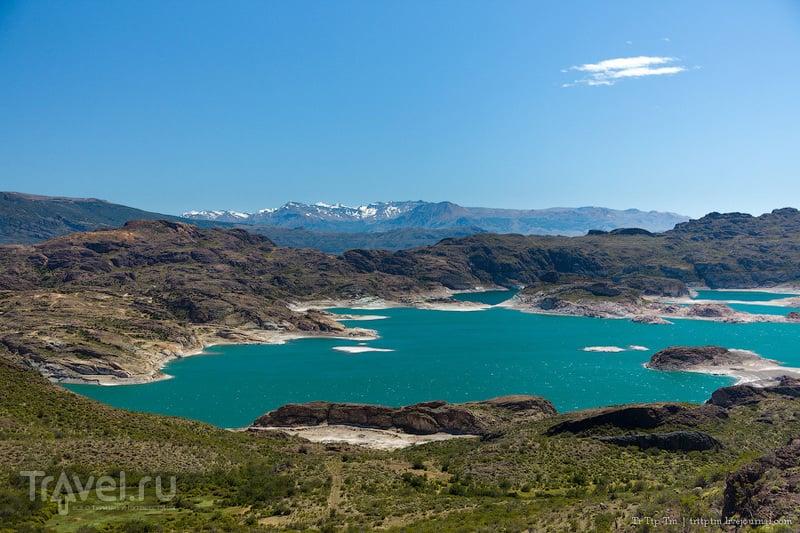 Озеро Лагуна-Вердэ / Фото из Аргентины