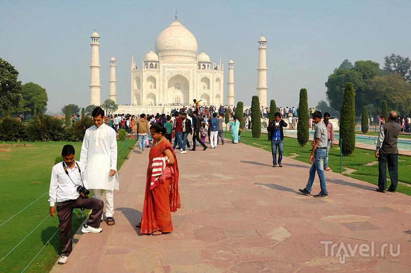 Тадж-Махале в Агре, Индия / Фото из Индии