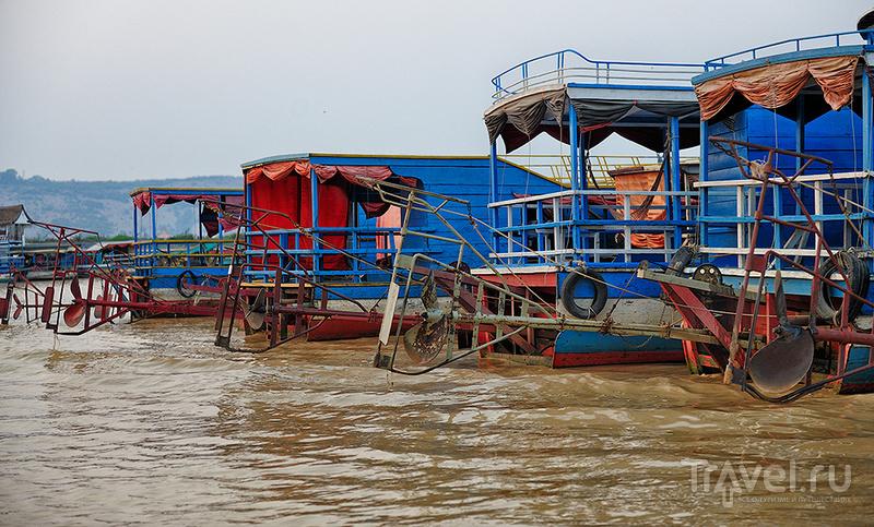 Камбоджа. Озеро Тонлесап / Фото из Камбоджи