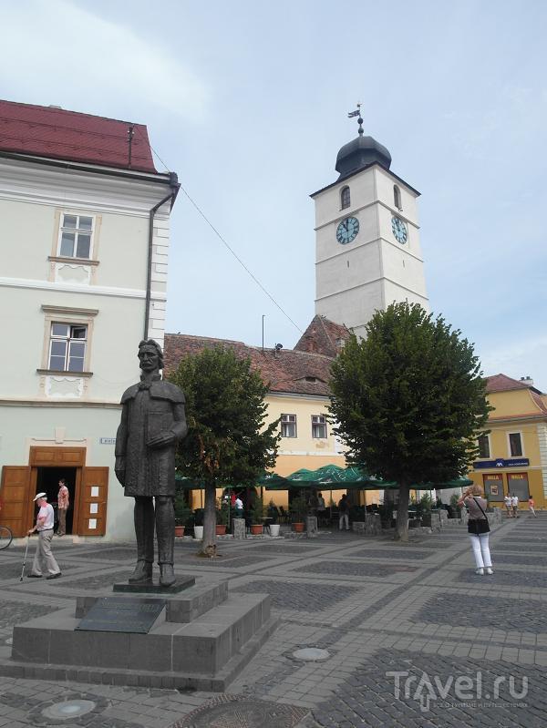 Башня Советов (Turnul Sfatului) в Сибиу, Румыния / Фото из Румынии