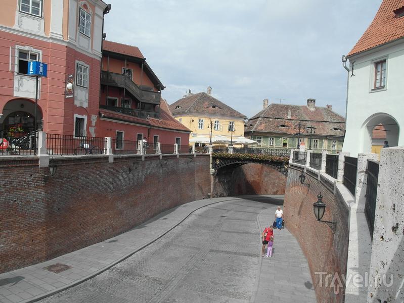 Strada Ocnei и мост Лжецов в Сибиу, Румыния / Фото из Румынии