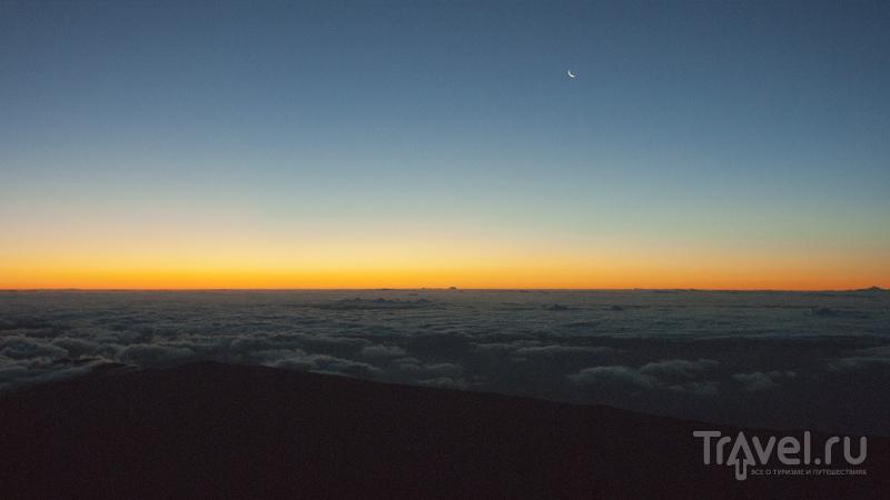 На вершине вулкана Тейде, остров Тенерифе, Испания / Фото из Испании