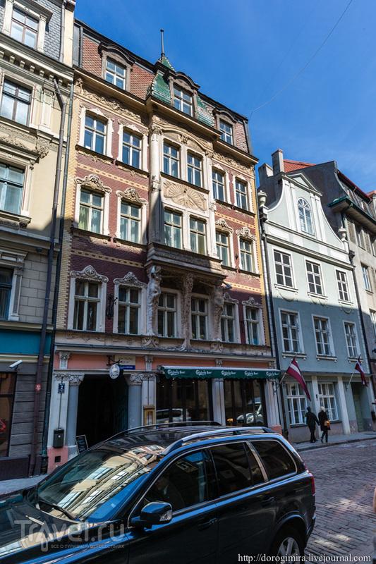 Улица Смилшу, дом 2 в Риге, Латвия / Фото из Латвии