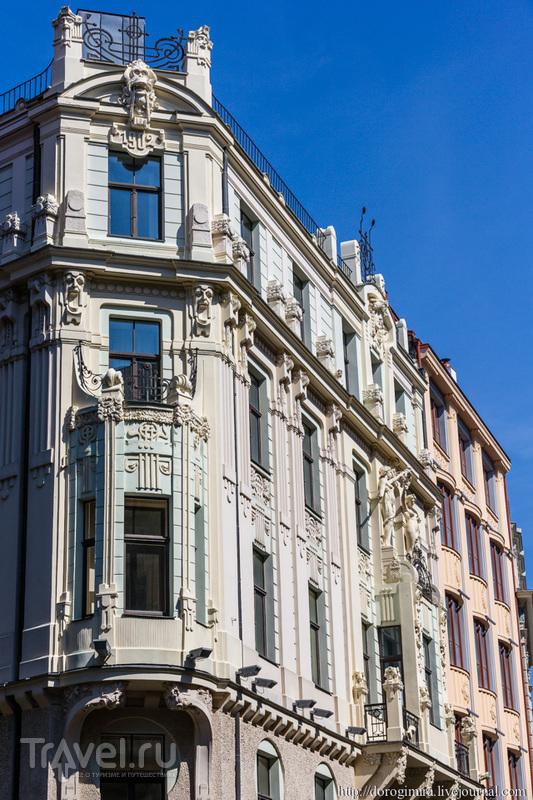 Улица Смилшу, дом 8 в Риге, Латвия / Фото из Латвии