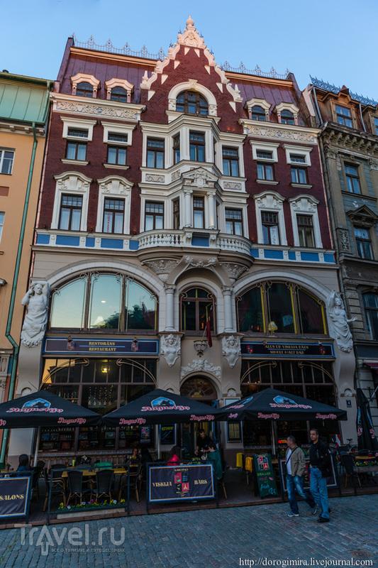 Улица Тиргоню, дом 4 в Риге, Латвия / Фото из Латвии