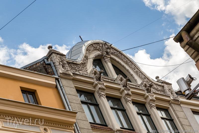 Югенд-Рига. Старый город / Фото из Латвии