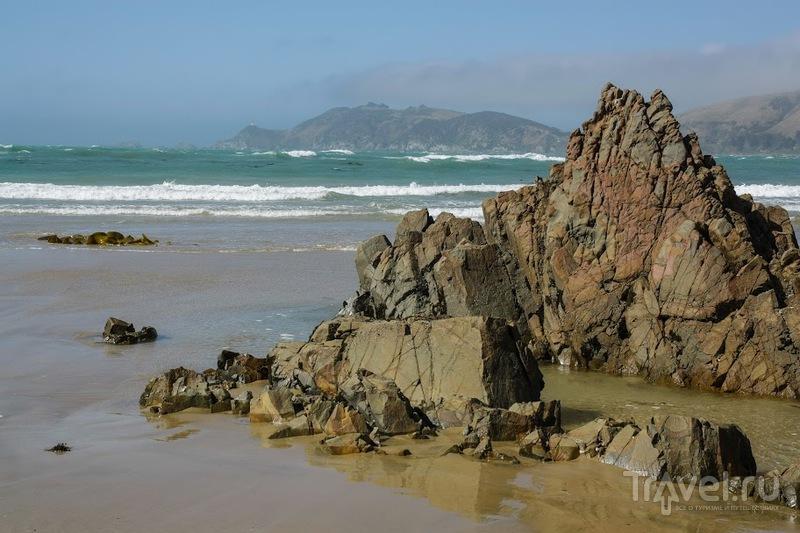 Nugget point и новозеландский маяк / Фото из Новой Зеландии