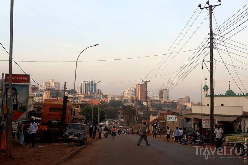 В городе Кампала, Уганда / Фото из Уганды