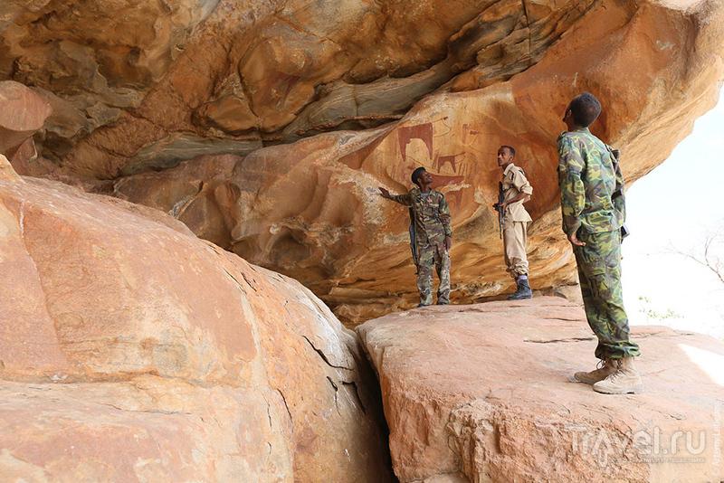 Гроты Лаас-Гааль, Сомали / Фото из Сомали
