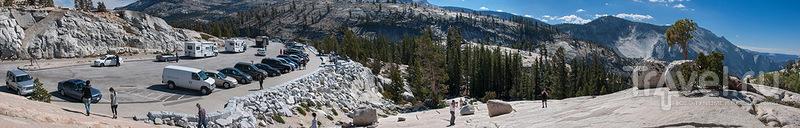 Обзорная площадка Olmsted Point в парке Йосемити, США / Фото из США