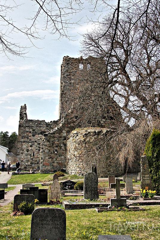 Церковь Святого Николая в Сигтуне, Швеция / Фото из Швеции