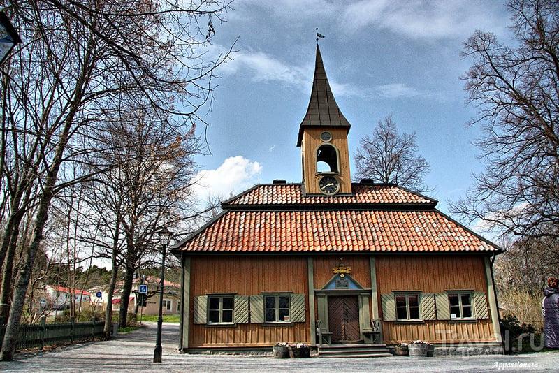 Ратуша в Сигтуне, Швеция / Фото из Швеции