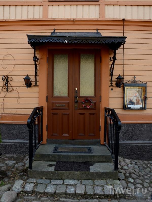 Один из домов в старой части Нантали, Финляндия / Фото из Финляндии