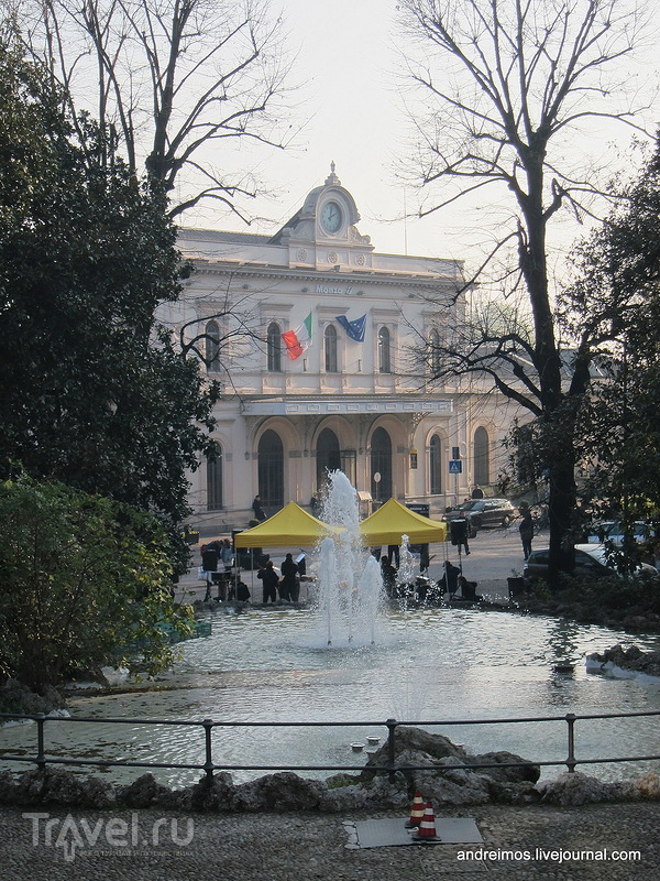 Вокзал в Монце, Италия / Фото из Италии