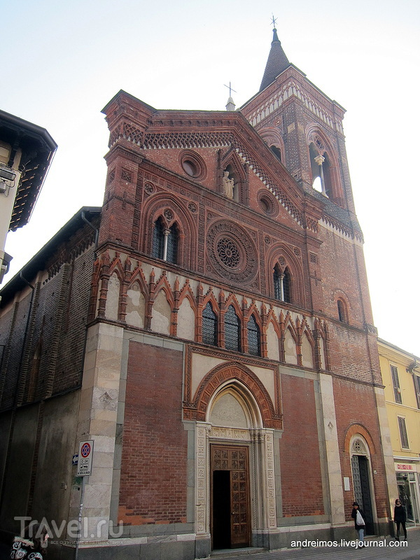 Церковь Св. Марии Страда (Chiesa di Santa Maria in Strada) в Монце, Италия / Фото из Италии