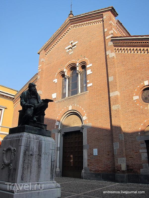 Памятник Мозе Бьянки (Mosè Bianchi) в Монце, Италия / Фото из Италии
