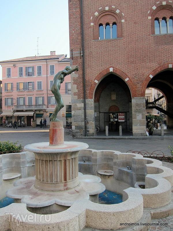 Фонтан Лягушки (Fontana delle rane) в Монце, Италия / Фото из Италии