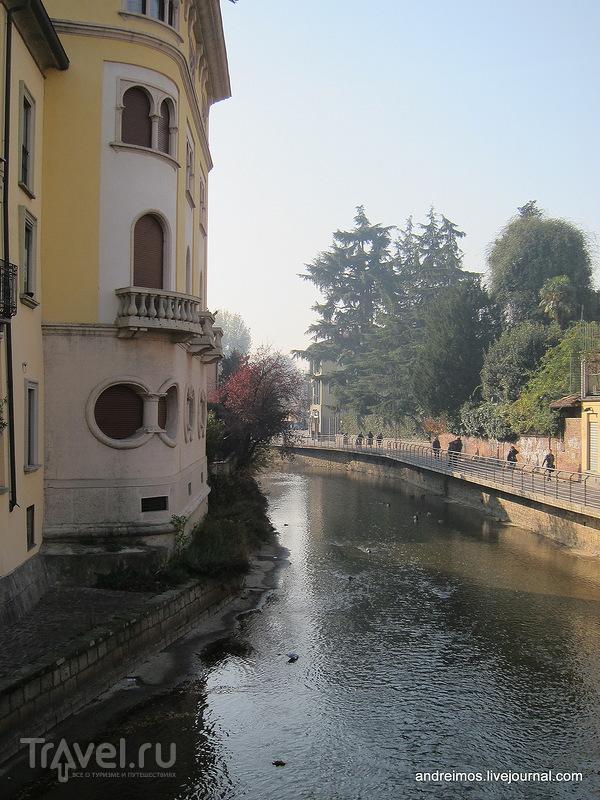 Река Ламбро (Lambro) в Монце, Италия / Фото из Италии