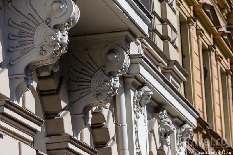 Югенд-Рига. Улица Элизабетес / Фото из Латвии