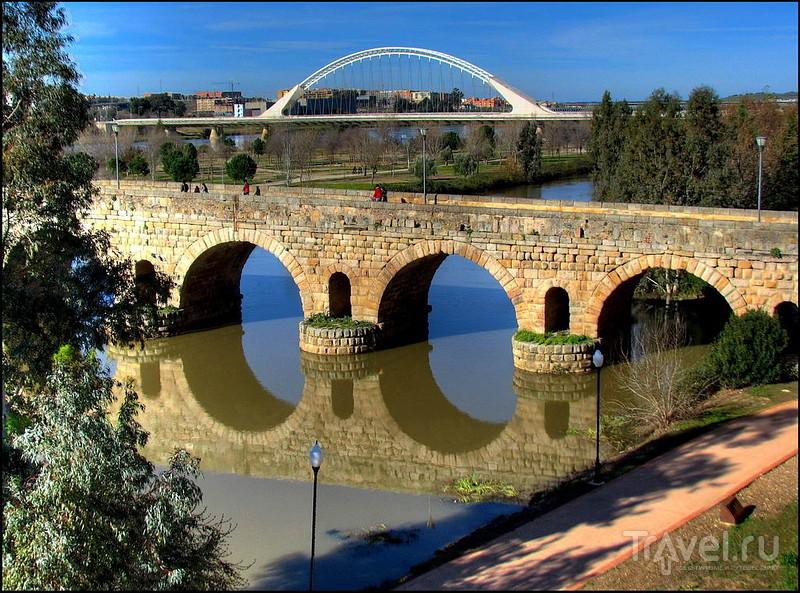 Puente Romano в Мериде, Испания / Фото из Испании