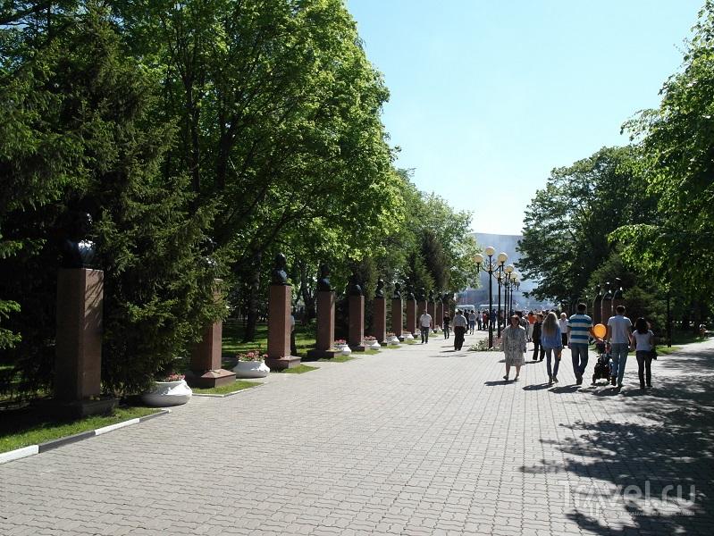 Парк Победы в Белгороде, Россия / Фото из России
