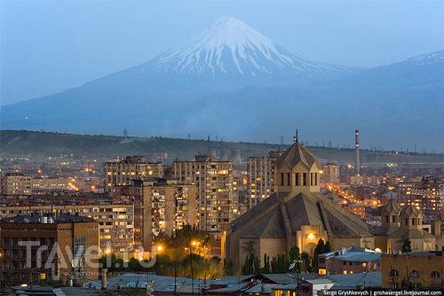 В Ереване, Армения / Фото из Армении