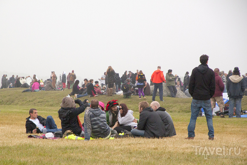 День Летнего Солнцестояния в Стоунхендже / Великобритания