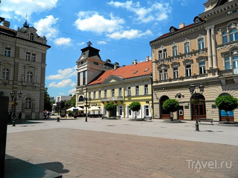 Площадь Свободы в Нови-Саде, Сербия / Фото из Сербии