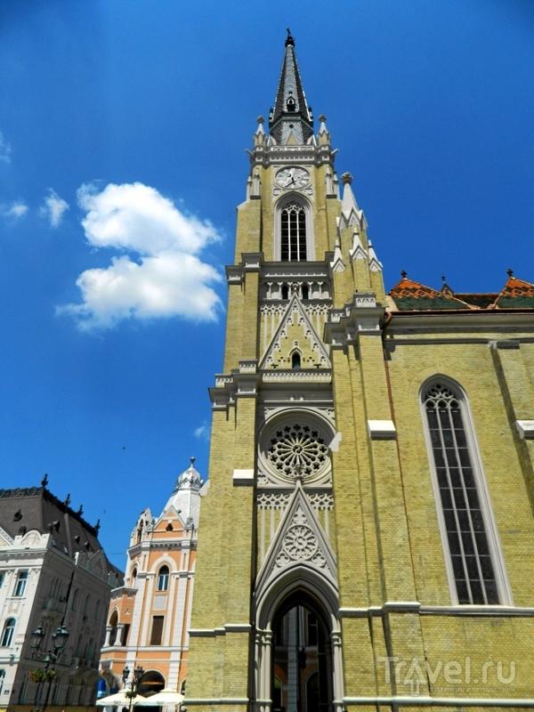 Колокольня собора Девы Марии в Нови-Саде, Сербия / Фото из Сербии