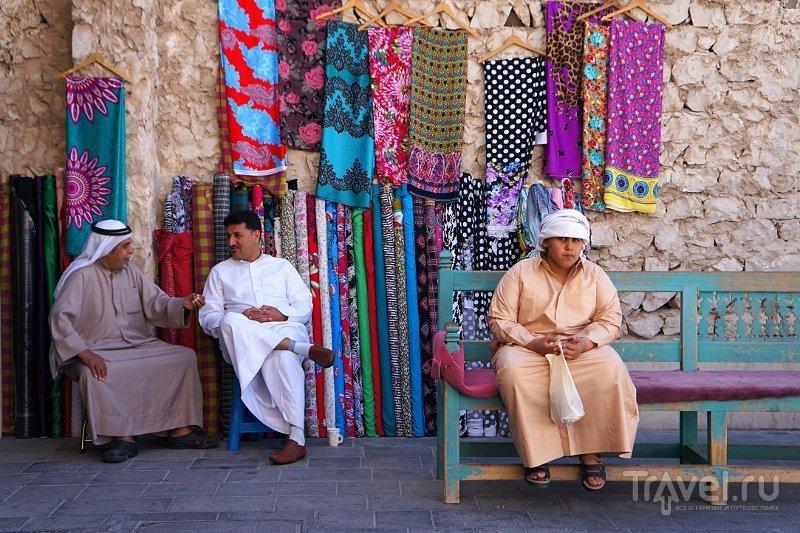На рынке Сук-Вакиф в Дохе, Катар / Фото из Катара