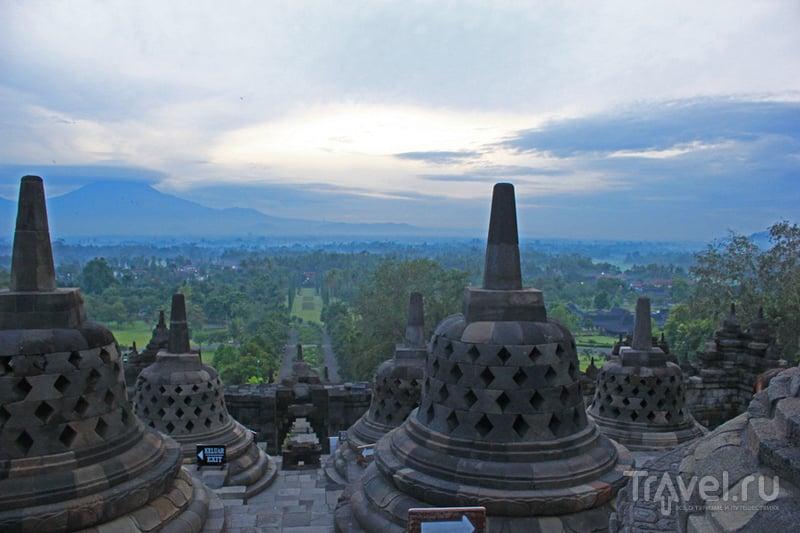 Храм Боробудур на острове Ява, Индонезия / Фото из Индонезии