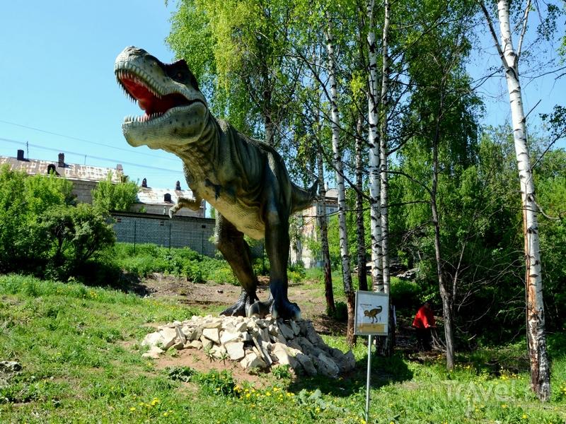 """Динопарк """"Динозавры на Вятке"""" в Котельниче, Россия / Фото из России"""