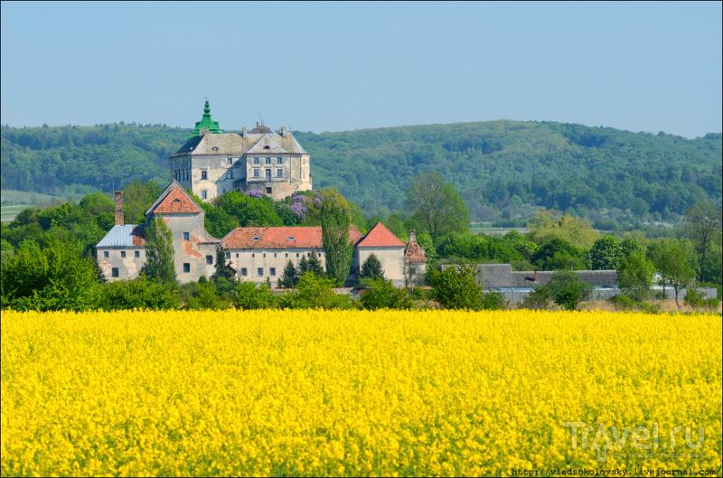 Олесский замок в Львовской области, Украина / Фото с Украины