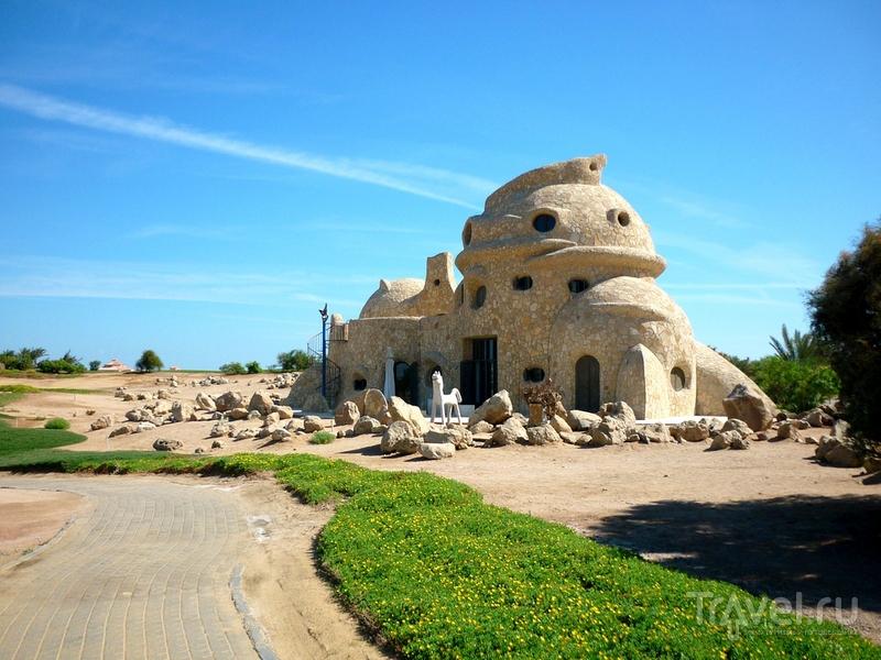 Гостевой дом Turtle House - воплощенный в камне диалог культур / Египет