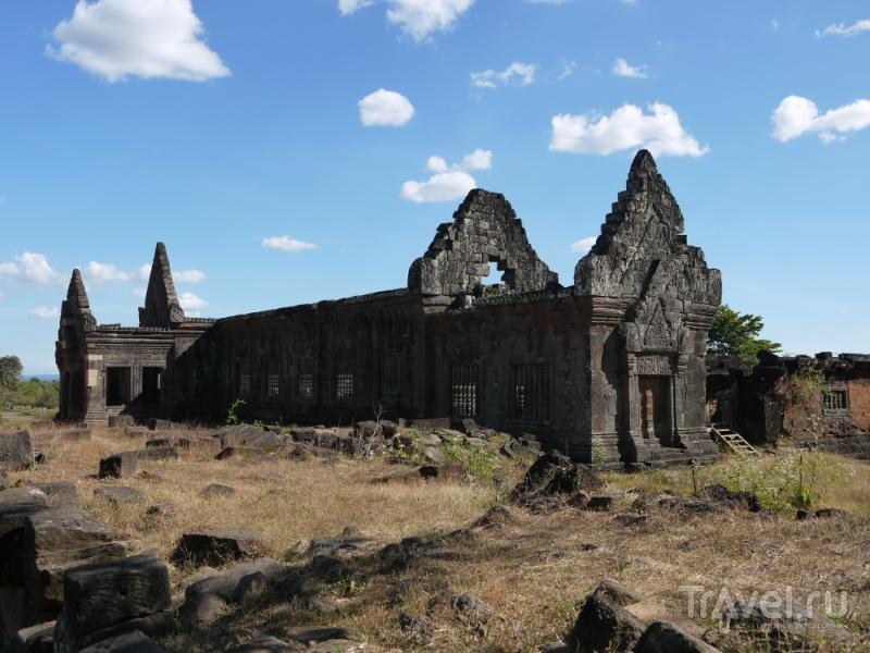 Кхмерский след в Лаосе - храмовый комплекс Ват Пу (Wat Phu) / Лаос