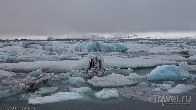 В Лагуне айсбергов Ёкюльсарлон, Исландия / Фото из Исландии