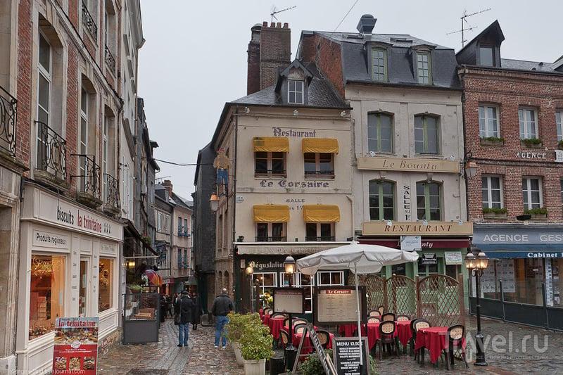 Дождливый вечер в Онфлере / Фото из Франции