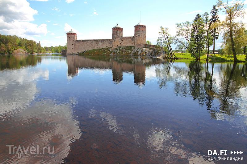 Крепость Олавинлинна в Савонлинне, Финляндия / Фото из Финляндии