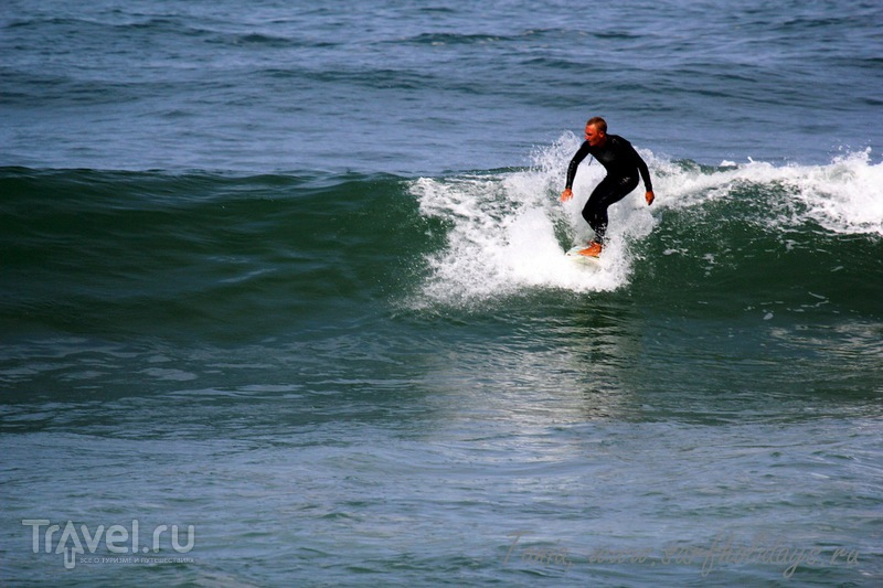 Биарриц. Серфинг у замков / Фото из Франции