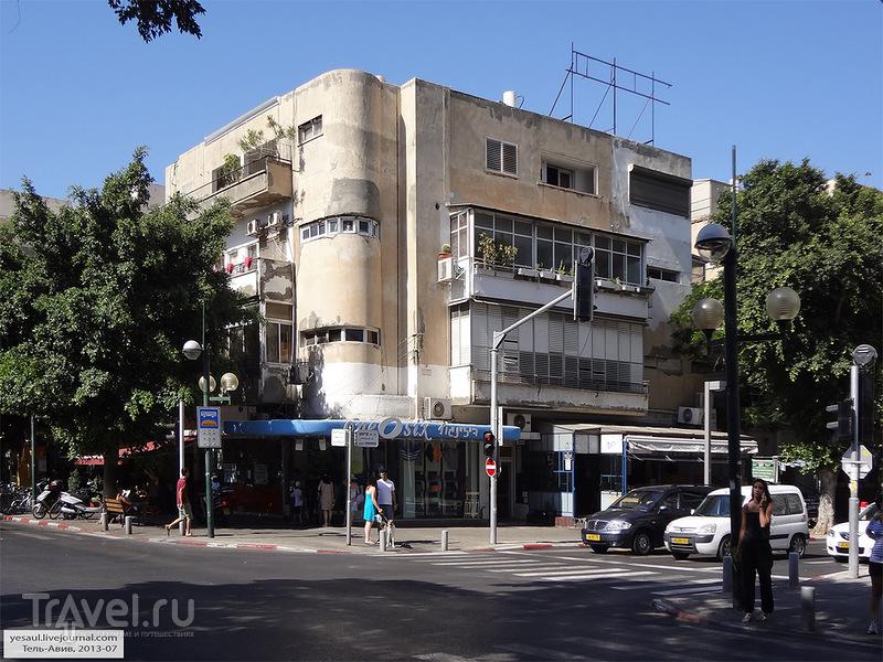 В городе Тель-Авив, Израиль / Фото из Израиля