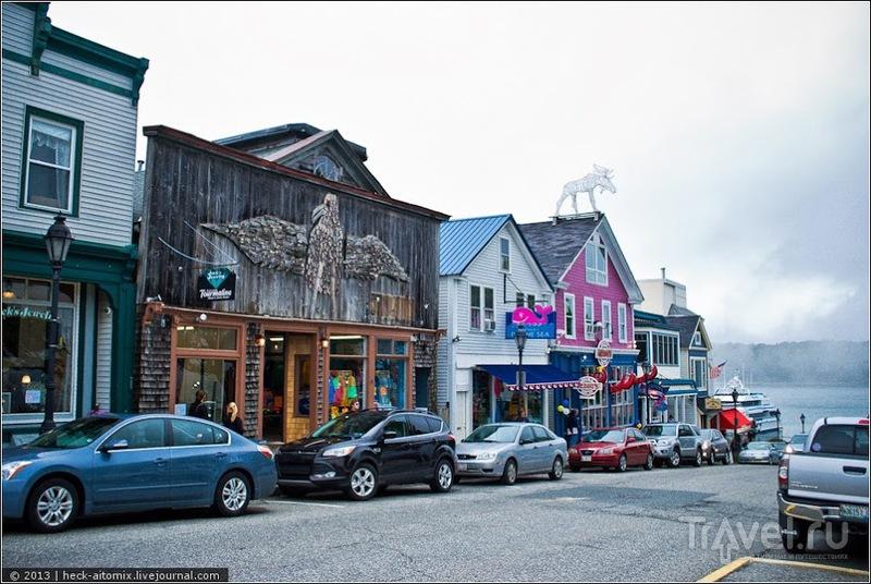 В городе Бар Харбор, США / Фото из США