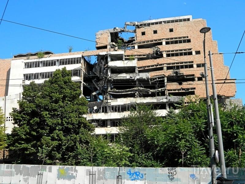 Площади и здания Белграда / Фото из Сербии