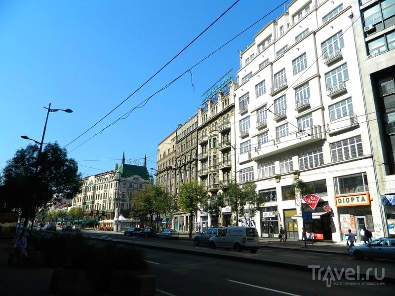 Площадь Теразие в Белграде, Сербия / Фото из Сербии