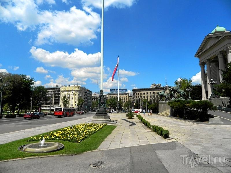 Площадь Николы Пашича в Белграде, Сербия / Фото из Сербии