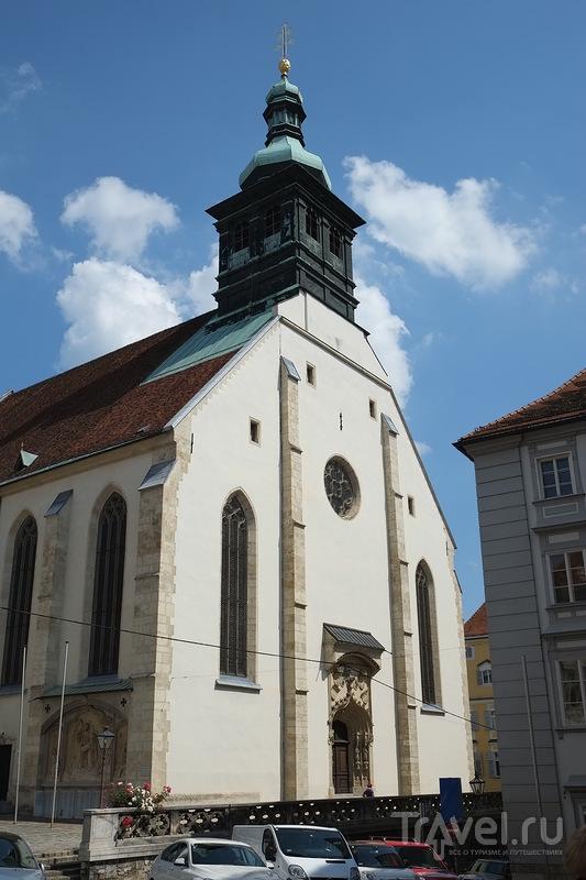 Грац. Крепость Шлоссберг / Фото из Австрии