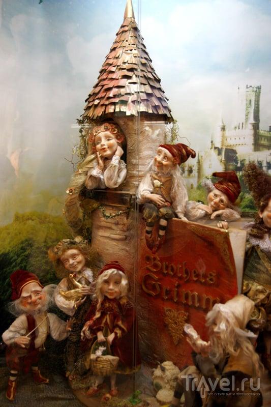 Экспонат Миниатюрного королевства и кукольной галереи / Фото из Латвии